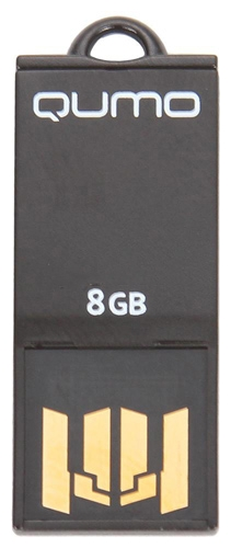 Фото: USB Flash Drive 8GB Qumo Sticker Black (QM8GUD-STR-Black)