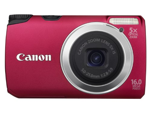 Фото: Фотоаппарат Canon PowerShot A3300 IS Red 12 мес гар
