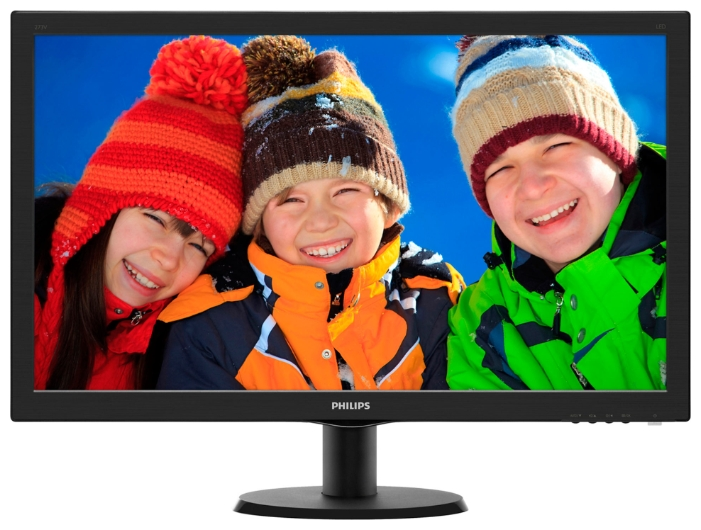 "Фото: Монитор 27"" Philips 273V5LHAB/00 Black"