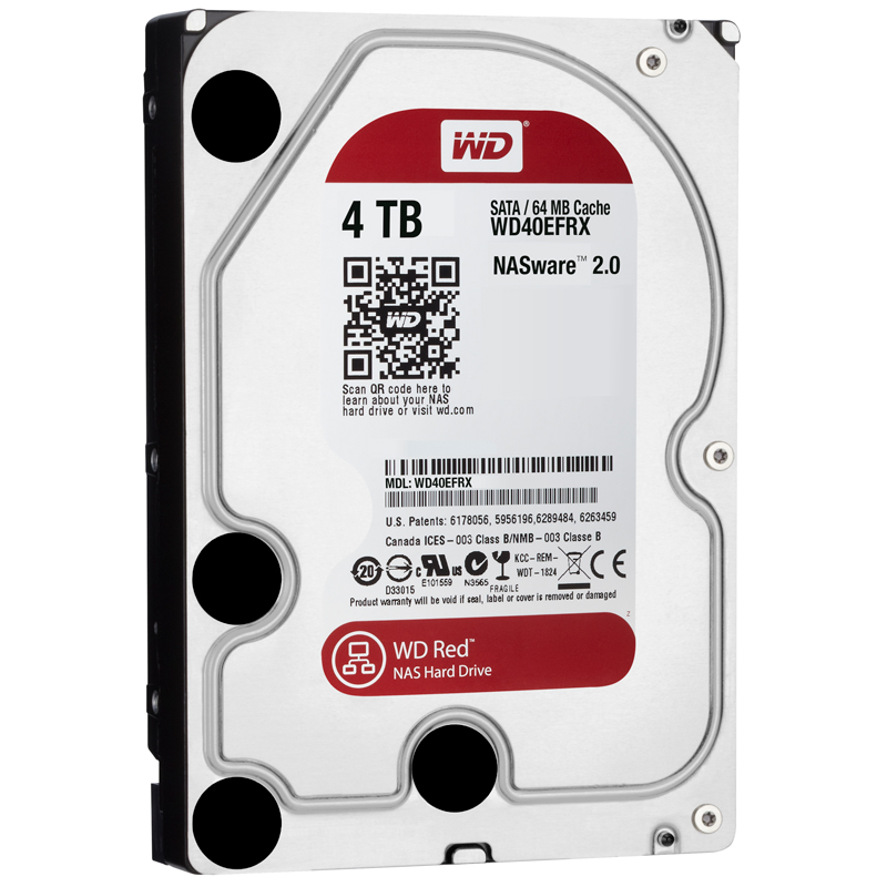 Фото: Жесткий диск HDD 4Tb Western Digital Red (WD40EFRX) / 3,5""