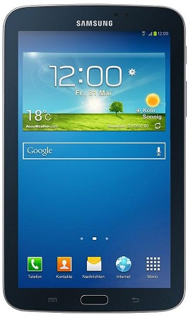 "Фото: Планшетный ПК 7"" Samsung Galaxy Tab 3 (SM-T2110MKASEK) Metallic Black / 8Gb / 3G офиц гар"