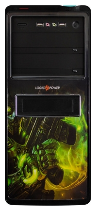 Фото: Корпус Logicpower 8817 GE-2 Gamer Edition Black /