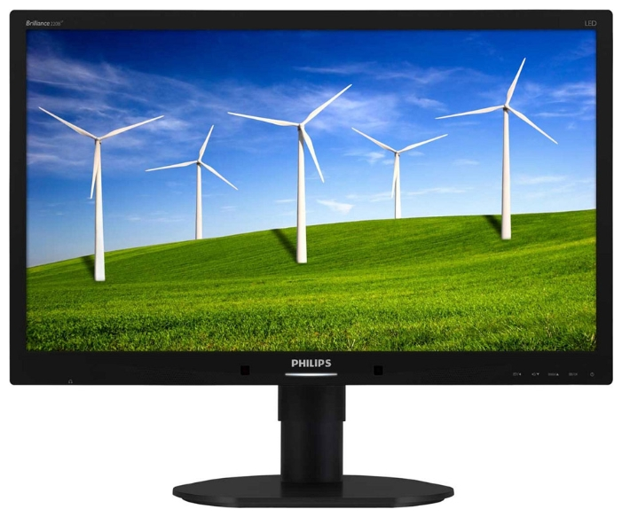 "Фото: Монитор 22"" Philips Brilliance 220B4LPYCB/00  Black"