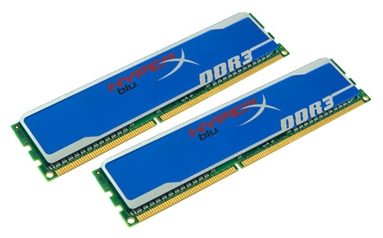 Фото: Модуль памяти DDR-III 2 x 8Gb 1600MHz Kingston HyperX Blue (KHX16C10B1K2/16X)