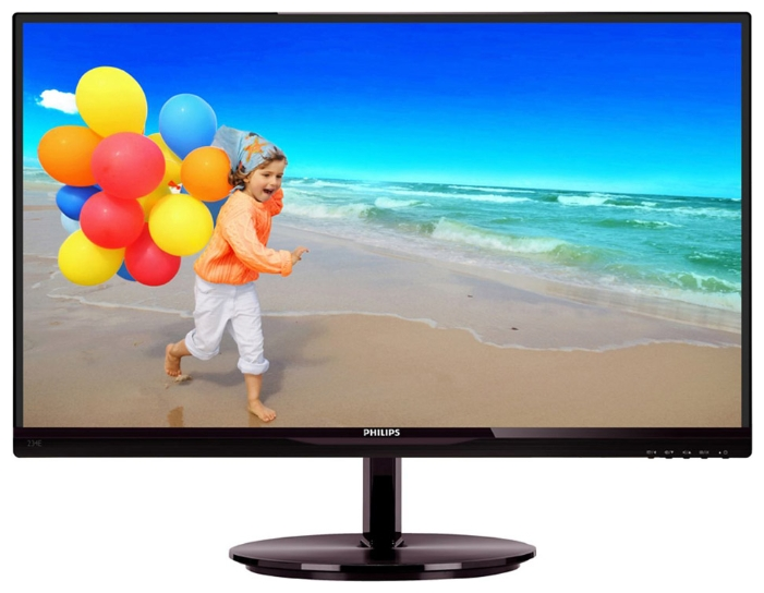 "Фото: Монитор 23"" Philips 234E5QHAB/00 Black"