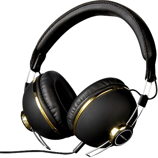 Фото: Наушники SPEED LINK BAZZ Stereo Headset, black-gold (SL-8750-BKGO)