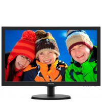 "Монитор 22"" Philips 223V5LSB2/62 чёрный"