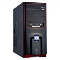 Корпус Huntkey T71-A; Black/Red; Midi Tower; 0,50 SGCC; 2USB/audio; ATX БЕЗ БЛОКА ПИТАНИЯ