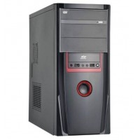 Корпус Huntkey T71-C; Black/Red; Midi Tower; 0,50 SGCC; 2USB/audio; ATX БЕЗ БЛОКА ПИТАНИЯ